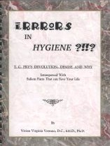 Errors in Hygiene